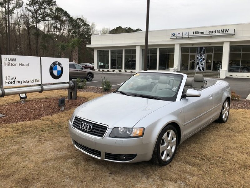 Photo Used 2006 Audi A4 1.8T Cabriolet for sale