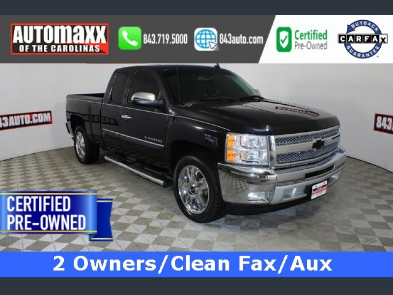 Photo Used 2013 Chevrolet Silverado 1500 2WD Extended Cab LT for sale
