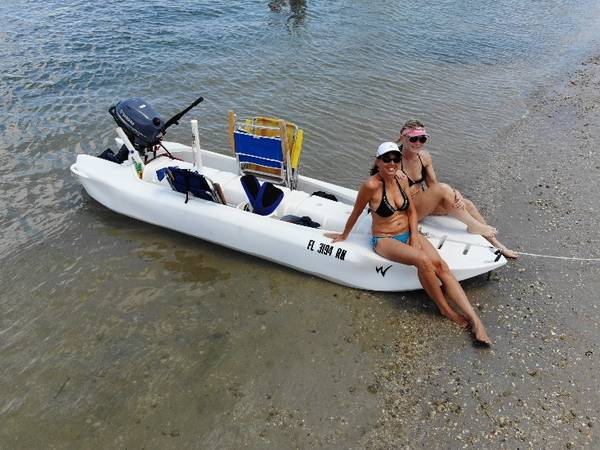 Photo Wavewalk S4 catamaran cartop-skiff  kayak - $2,600 (Latta)
