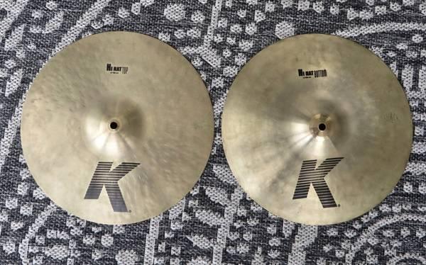 Photo Zildjian K 14quot Hi Hat Cymbals - Like New (Conway  Carolina Forest)