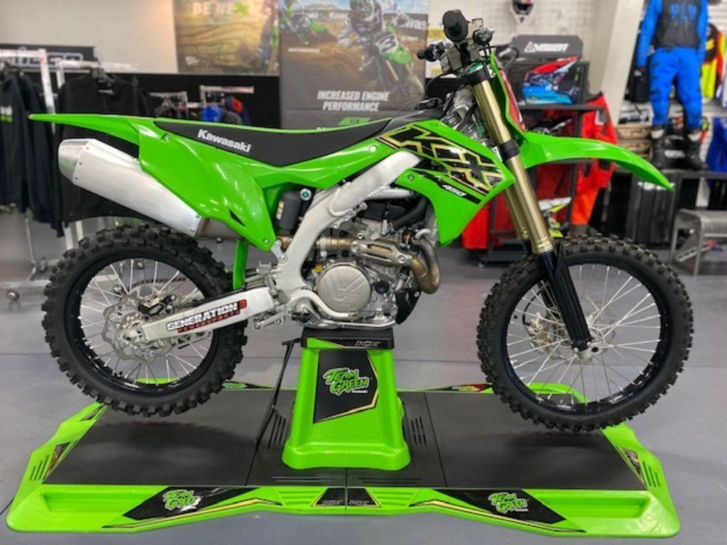 Photo 2021 Kawasaki KX 450 $8999