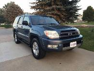 2004 Toyota 4runner Sr5 4wd 4x4 4 Runner 4 7l V8 Auto Suv 162mo 0dn 8999 Bluestarautogroup Com Trades Welcome Cudl Financing Cars Trucks For Sale Fort Collins Co Shoppok