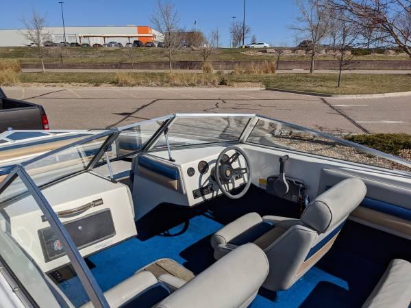 Photo 1987 Baja Sunsport 196 Outboard 150HP Ski Boat $4,200 OBO - $4,200 (Greeley)