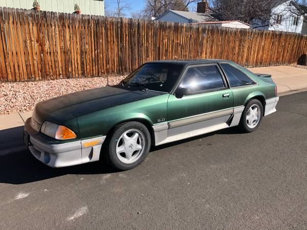 Photo 1992 Foxbody Mustang 5.0 - $6000 (Fort Collins)