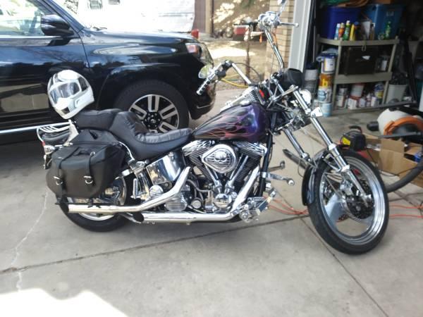 Photo 1995 Softail FXSTC HD Custom Harley Davidson - $5,999 (Loveland)