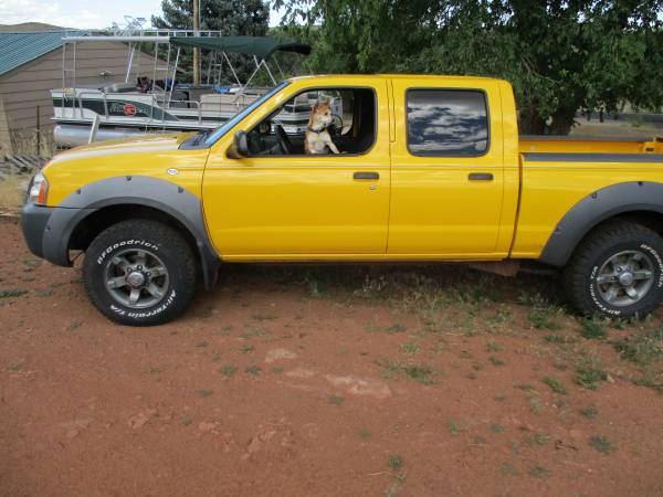 Photo 2003 Nissan Frontier Crew Cab - $3500 (Ft Collins)