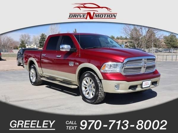Photo 2014 Ram 1500 Laramie Longhorn Pickup 4D 5 12 ft - $28,995 (_Ram_ _1500_ _Truck_)