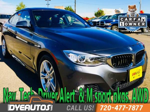 Photo 2016 BMW 335i xDrive Gran Turismo GT NAV Tech AWD 1 owner accident fre - $21999 (_BMW_ _335i xDrive Gran Turismo_ _Sedan_)
