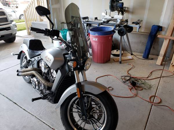 Photo 2016 Indian Scout 9500 OBO - $9,500 (Fort collins)