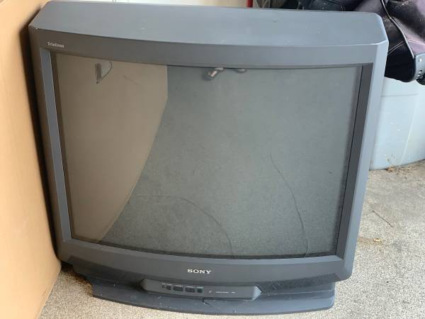 Photo 34 Sony Trinitron TV (Fort Collins)