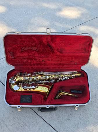 Photo Alto saxophone great condition used - $250 (Fort Collins)