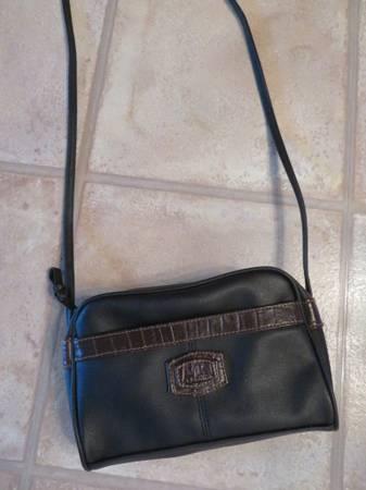 Photo Black and Brown Shoulder Purse - $5 (Fort Collins)