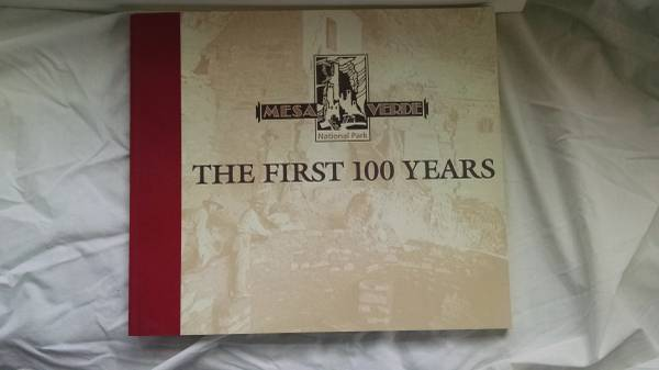 Photo Book Mesa Verde - the First 100 Years - $10 (Fort Collins)