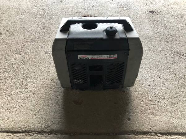 Photo Coleman Powermate 1850 Generator - $120 (Pierce)