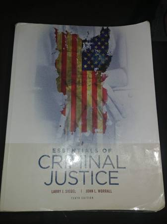 Photo Essentials of Criminal Justice 10th edition - $35 (Fort Collins)