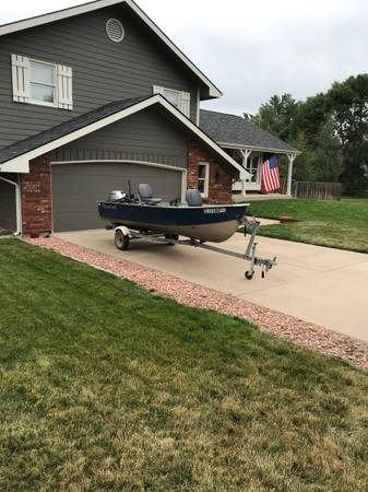 Photo Great Deal Get it while it39s hot 14 Foot Master Craft Fishing Boat. - $5,750