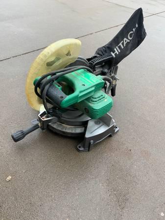 Photo Hitachi chop saw - $65