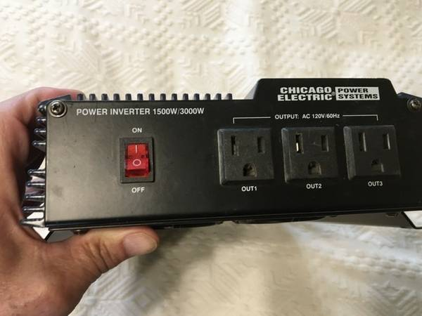 Photo Inverter, Chicago Electric - $100 (Ft Collins)