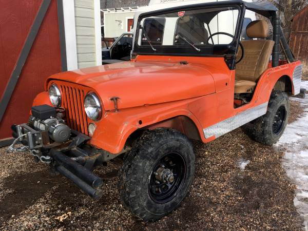 Photo Jeep, 1974 4WD CJ5 - $5000 (Wellington Colorado)