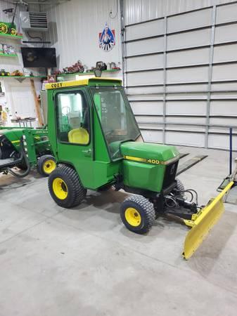 Photo John deere 400 tractor - $5,800 (Fort Collins)