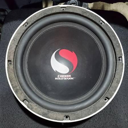 Photo Kicker S10D Car Audio Speaker - $150 (NW Fort Collins)