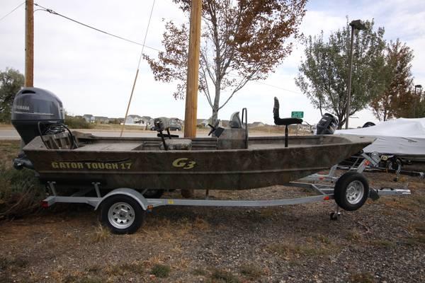 Photo New 2019 Yamaha G3 17 CCJ Duck Boat - $23834 (Berthoud Colorado)