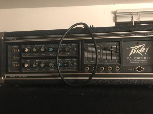 Photo Peavey Musician Mark III - $50 (Fort Collins)