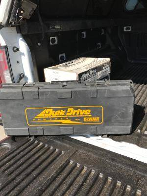Photo QUIK DRIVE DECKING SYSTEM - $125 (Windsor)