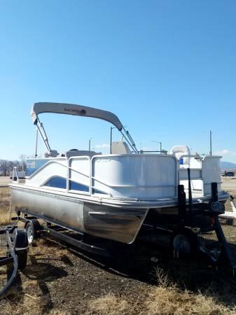 Photo Sale Pending - 2020 NEW G3 V Suncatcher 18F Pontoon Boat 1839 - $34,495 (Berthoud)