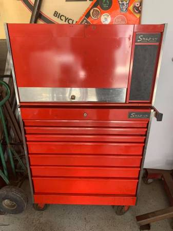 Photo Snap-On UpperLower Tool Box, Chest - $600 (Greeley)