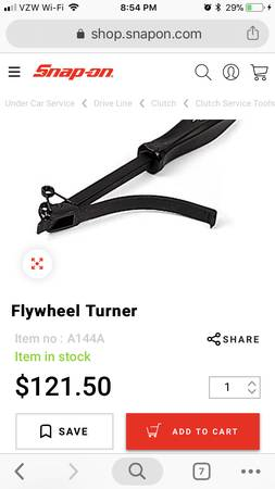 Photo Snap on flywheel hold tool - $80 (Wellington)