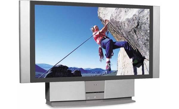 Photo Sony 60quot Wega Large Rear Projection Big Screen TV KF-60XBR800 - $50