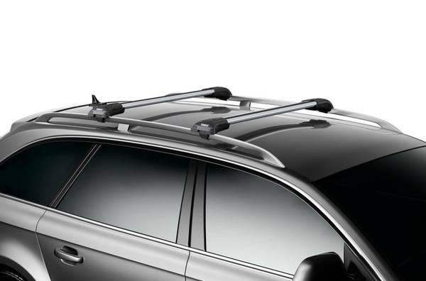 Photo Thule AeroBlade Edge Roof Rack System for Raised Side-Rails LocksKeys - $250 (Fort Collins)
