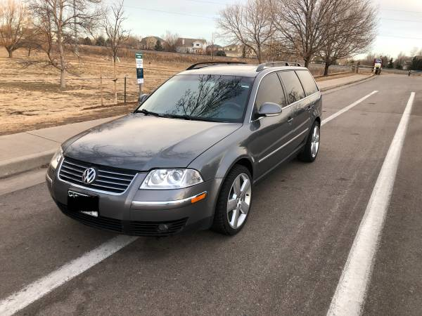 Photo VW PASSAT WAGON TDI 2005 with 117kmiles - $5,999 (Fort Collins)