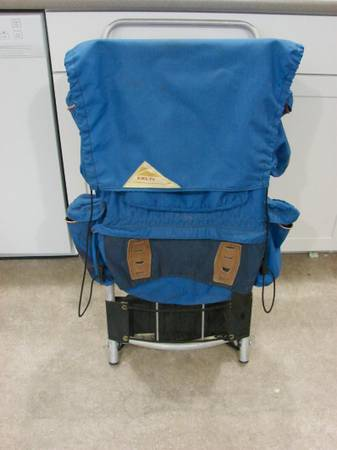Photo Vintage KELTY Early 1970s Late 1960s Retro EXTERNAL FRAME BACKPACK - $35 (Cheyenne)