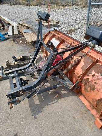 Photo Western snow plow - $2,000 (FORT COLLINS)