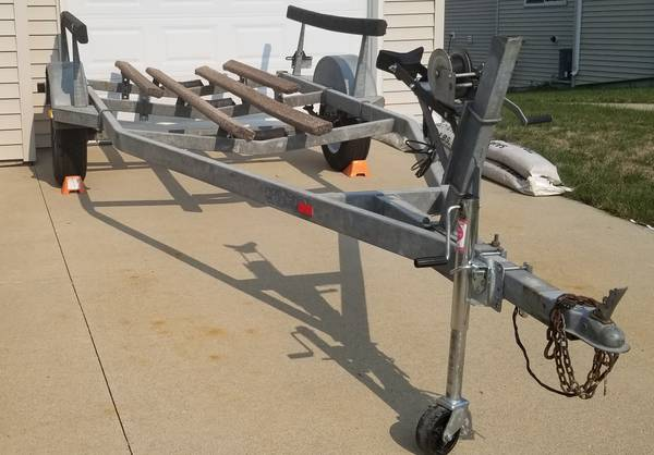 Photo 16 ft. Boat Trailer for sale - $725 (Ames)