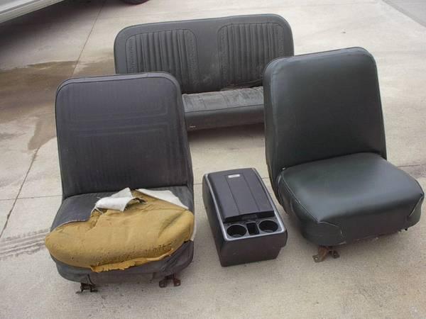 Photo 1969 - 1972 Chevy Blazer seats - $1000 (ROCKWELL CITY)