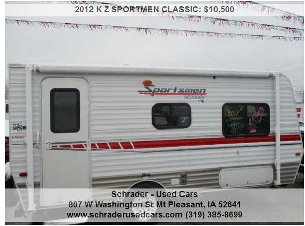 Photo 2012 K Z SPORTMEN CLASSIC 19 FT POP-OUTS - $10,500 (Mount Pleasant)