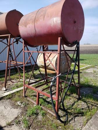 Photo 2-300 gallon Fuel Barrel  Gas Barrel - $75 (Clarion, IA)