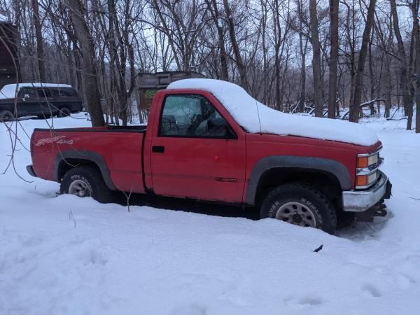 Photo 92 chevy with blizzard snow plow - $2000 (dayton)