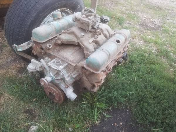 Photo Buick Nailhead Engine and transmission - $500 (Clarion)