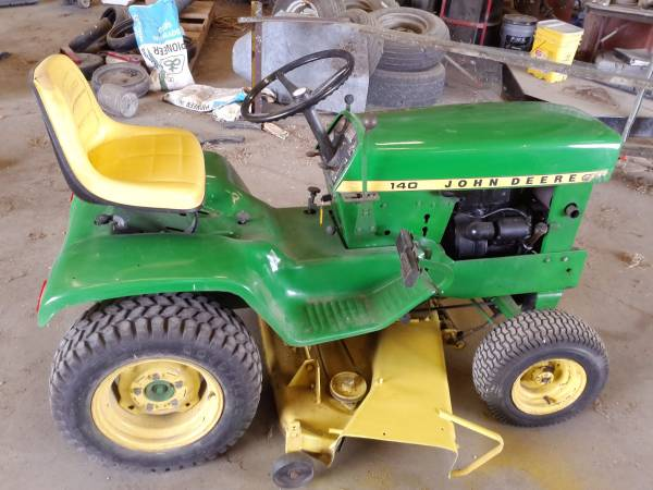 Photo John Deere 140 Lawn Tractor - $525 (Storm Lake)