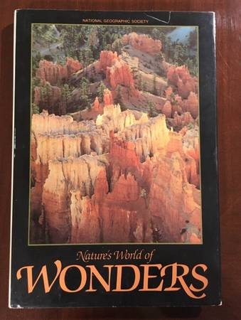 Photo Natures World Of Wonders National Geographic Society HB Book 1983 - $5 (Des Moines Iowa)