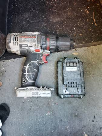 Photo Porter cable drill - $65 (Webster City)
