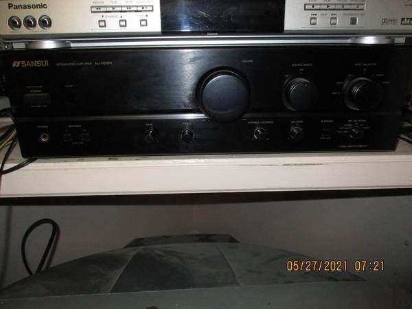 Photo Sansui AU-X619R Stereo Amplifier 80w X 2 - $500 (Dallas County)