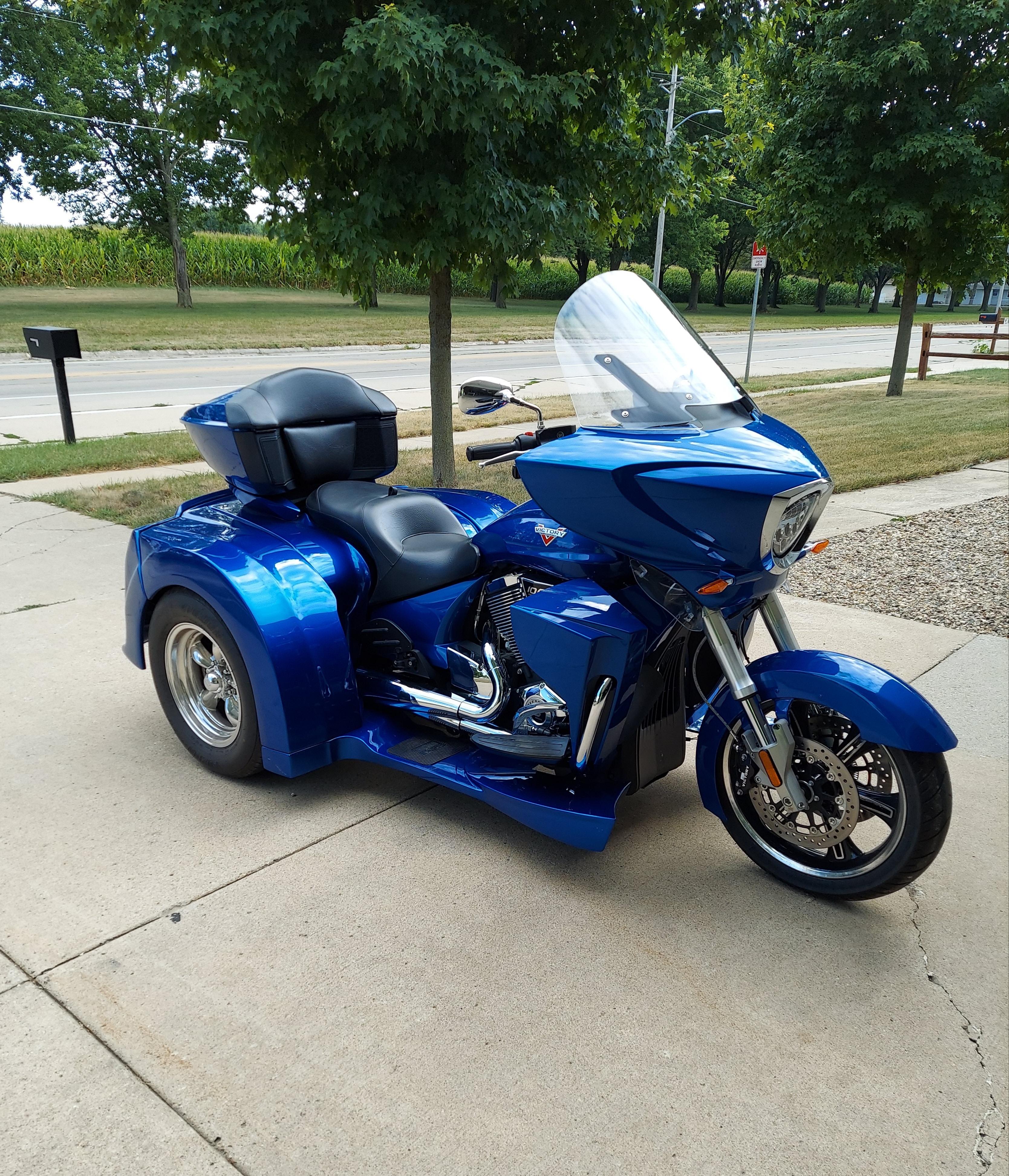 Photo Used 2017 Victory Trike Motorcycle  $29000