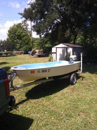 Photo 12ft jon boat with 6hp - $1,000 (North Fort Myers)