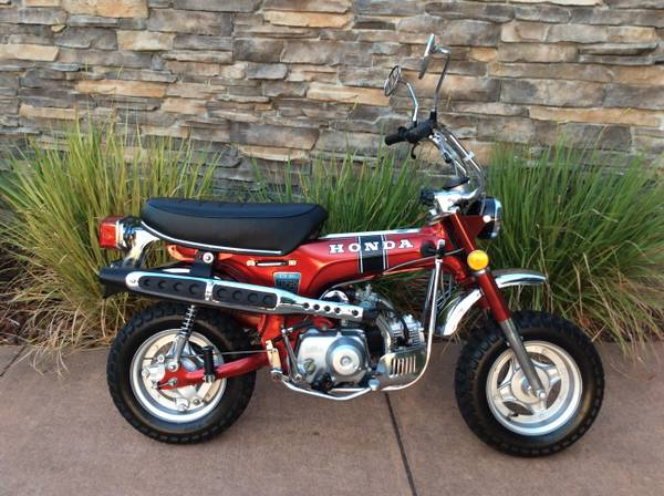 Photo 1972 Honda Trail CT-70 with Title - $3999 (Naples)
