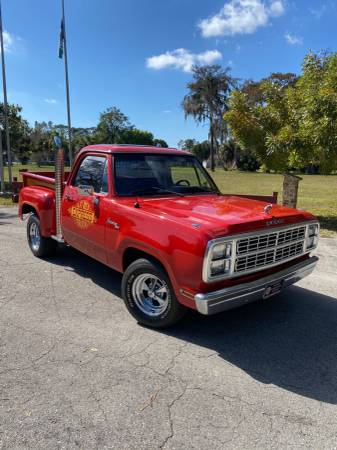 Photo 1979 Dodge Lil Red Express Truck - $23000 (Fort Myers)